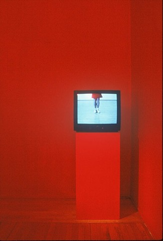 Perpetual Self Discipline, detail, video room