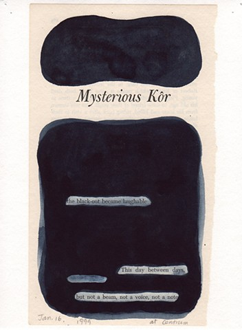 "Dear John (From ""Mysterious Kôr"" chapter)"