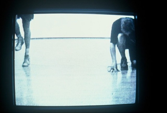 Perpetual Self Discipline, detail, still from video footage