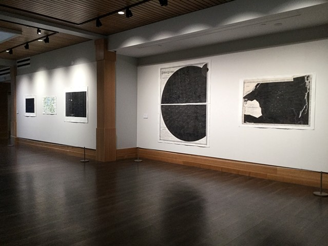 Installation view at the Rivers School, Weston, MA