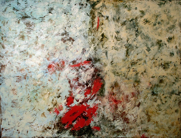 Champagne Powder, fine art, oil on canvas, abstract, landscape, painting, oil paints, canvas, original painting, encaustic, gift,