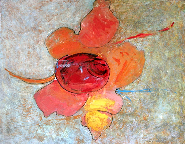 acrylic, fine art, original painting, abstract, still life, fruits