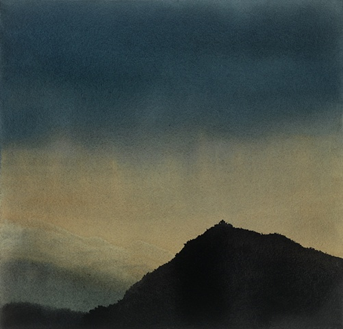 Dark Hill at Dawn