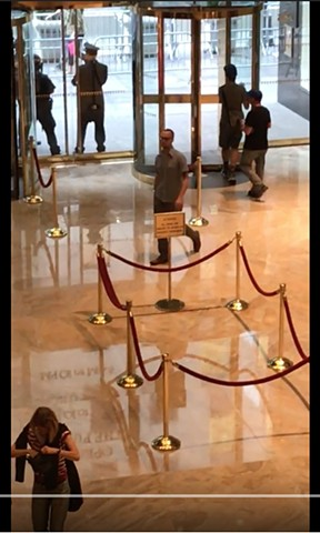 trump tower lobby