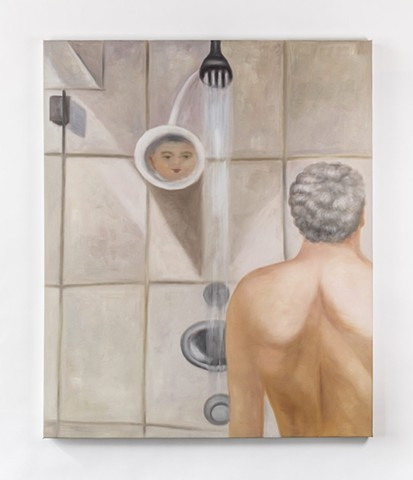 The Shower Painting