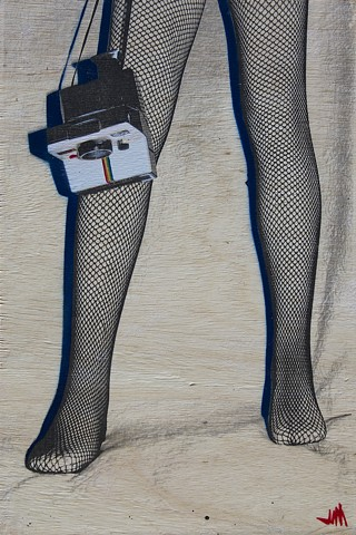 Fishnets and Polaroid