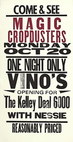 Magic Cropdusters Opening for Kelley Deal 6000 with Nessie