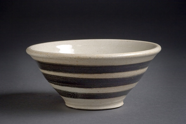 Salt fired bowl