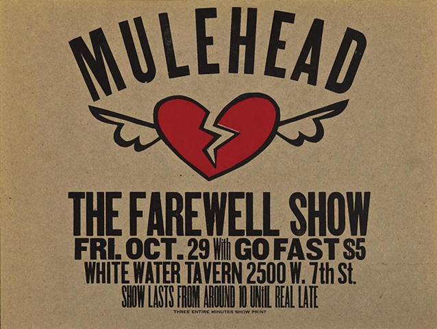 Mulehead Farewell Show with Go Fast