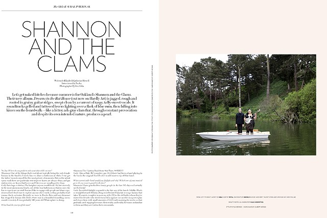 Shannon and the Clams   Flaunt Magazine