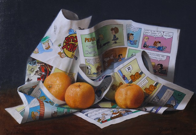 Clementines with Comics