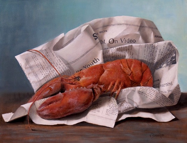 Wrapped Lobster