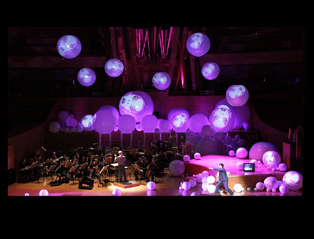 Walt Disney Concert Hall/ LA Phil Green Umbrella: Theater of the Outrageous