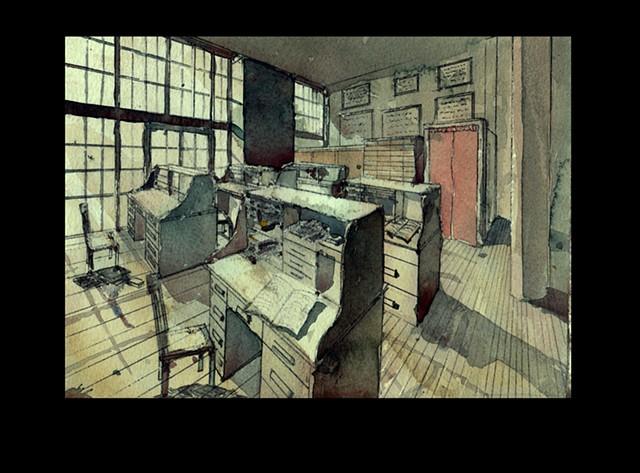 1900's office