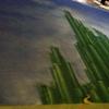Scenic painting: 54'x34' Oz drop.
