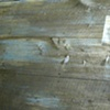 Scenic painting: Wooden deck detail w/ sample.