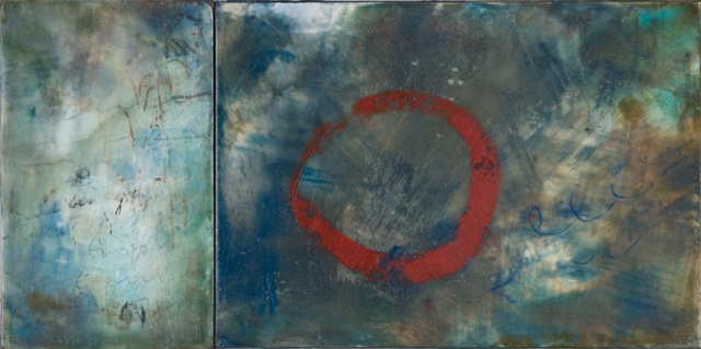 encaustic, painting, abstract