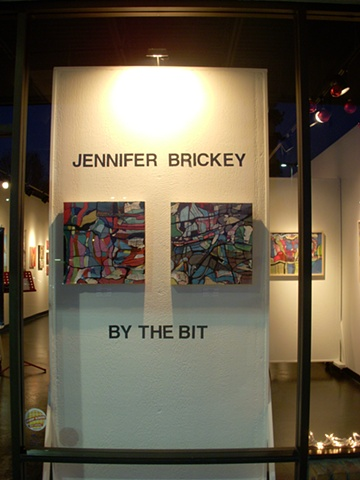 """by the bit"" Red Line Gallery (2010)"