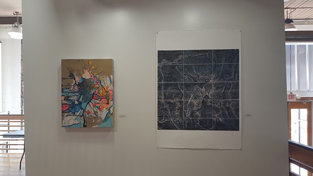 Group Exhibition: Map! Jennifer Brickey, Nick DeFord, Marcia Goldenstein, and Tony Sobota, The Balcony Gallery, Emporium Building, Knoxville, TN, Curated by Jennifer Brickey (2015)