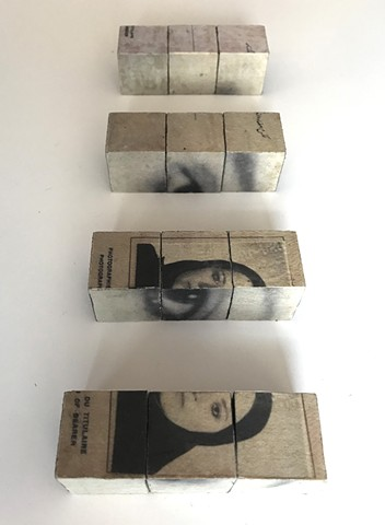 Personal History Wood Blocks