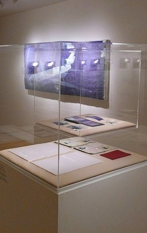 Installation Photo From the Show Displacement at the Craft and Folk Art Museum, LA