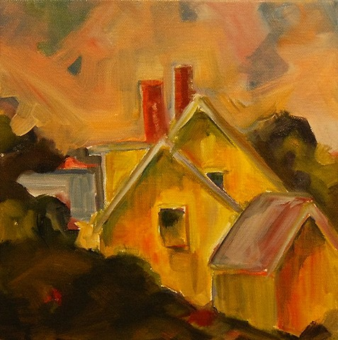 yellow farmhouse 2