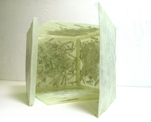 Cube Book (of the series of Diary) Artist Book