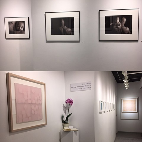 Two artists show. Drawings, folded 3D paper, The Project Space at Julio Valdez Studio, LLC, New York, NY