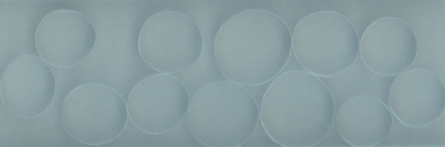 Circles on blue (landscape print) 1/7 movements