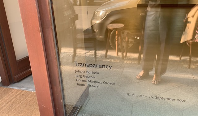 Transparency, Group Show, Galerie Pugliese Levi, Berlin