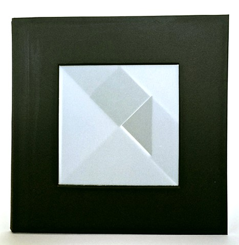 Black Square (From the series Split Shapes)