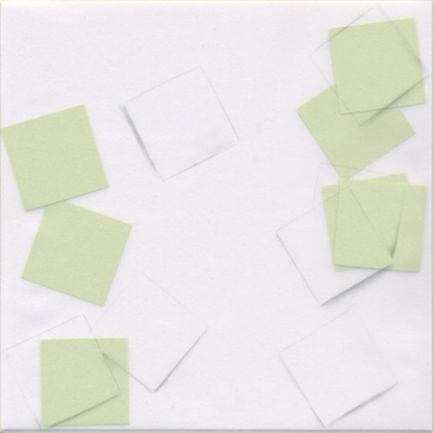 Seven Squares (Lime green)