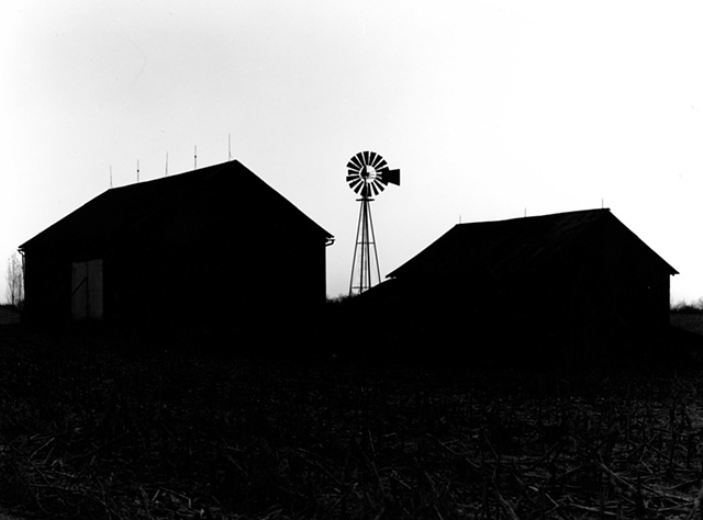 Barns and Windmill