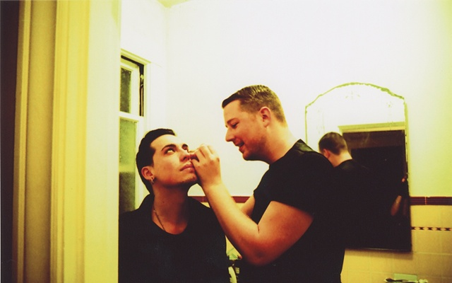 """guy liner""- Make up series with- Seth & Dane"
