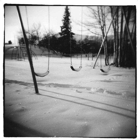 holga Camera, black and white