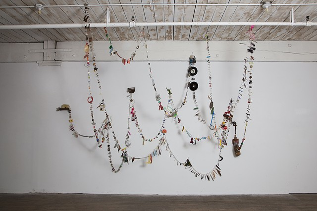 Rosary 2008-2013 Installation view at Fowler Arts, Brooklyn, NY