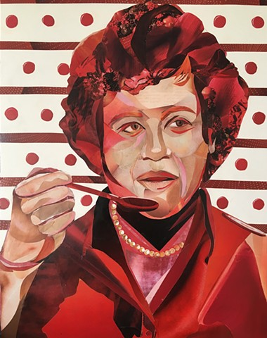 Julia Child  (LA Portrait Commission)