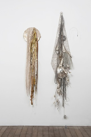 Silver and Gold Tassels