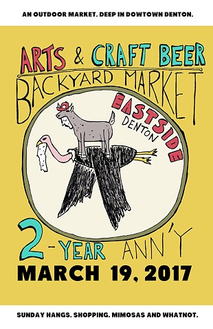 """Backyard Market 2-Year Anniversary"""