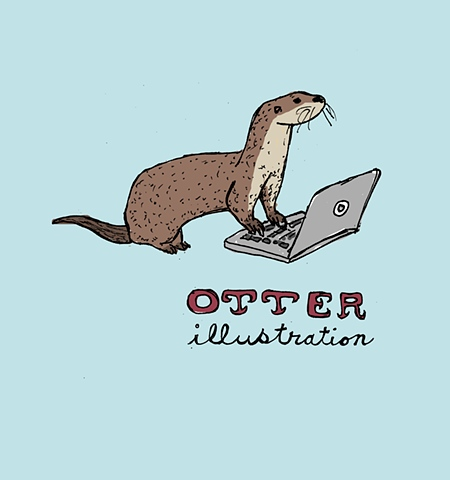 OTTER ILLUSTRATION | Matthew Gordon Sallack