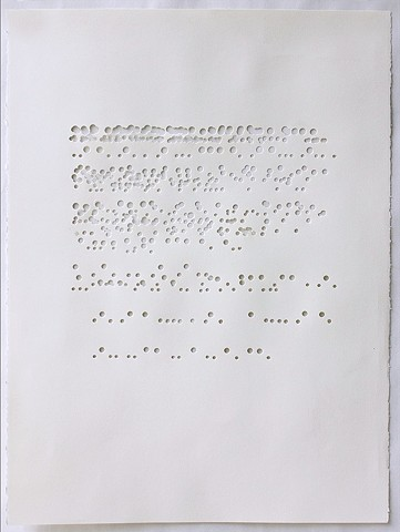Drawing series based upon the Bill of Rights: