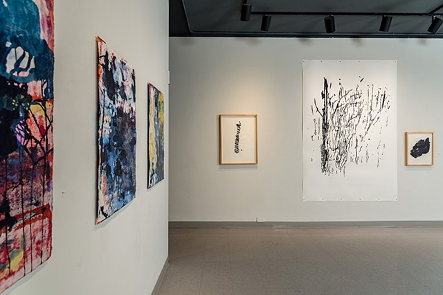 Installation view Three Kinds of Choas