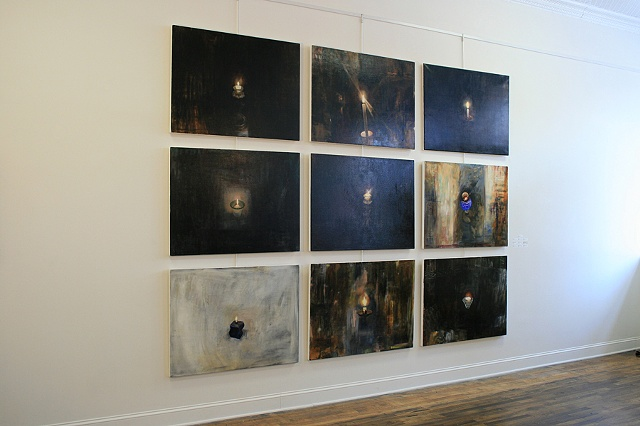 Memorial Wall, Installation view.