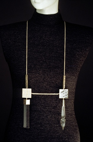 diptych neckpiece as worn