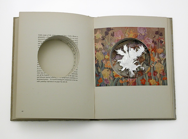 Jewelry- Brooch in altered book/box