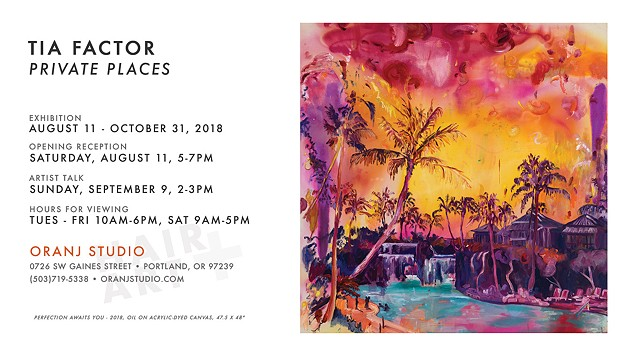 Upcoming Solo Show • Oranj Studio