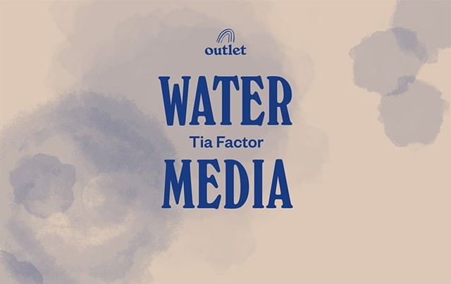 Teaching a Water Media Workshop at Outlet, 9/10/17