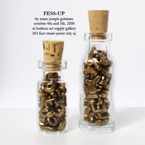 Fess-Up Exhibition Announcement