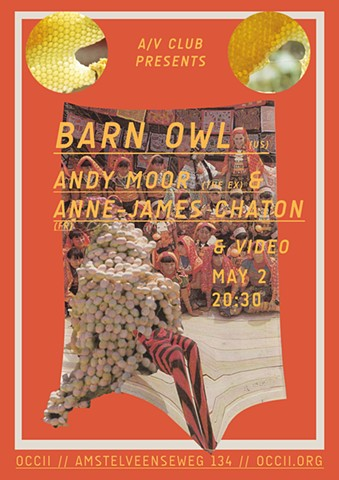 A/V Club #14 with Barn Owl