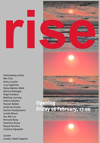 Exhibition Flyer / RISE